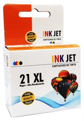 Cartucho Alternativo De Tinta Star Ink Para  21  Xl - C9351a - Negro