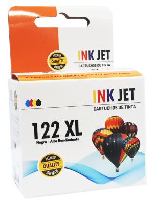 Cartucho Alternativo De Tinta Star Ink Para  122n Xl -ch561hl - 18ml - Negro