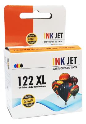 Cartucho Alternativo De Tinta Star Ink Para  122c Xl - Ch564hl - 18ml - Tri Color