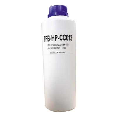 Carga Toner Polvo Compatible Para Ser Usado En P/ Hp Color Chemical  - Cyan - (botella X 500 Gr)