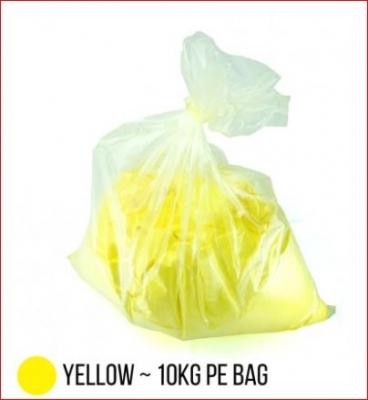 Bag Carga Toner Compatible Polvo P/ Hp Color Chemical  - Amarillo - (bag X 10 X Kg)