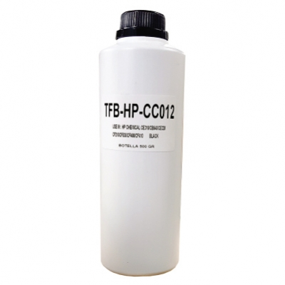 Carga Toner Polvo Compatible Para Ser Usado En P/ Hp Color Chemical  - Negro - (botella X 500 Gr) C