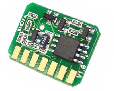 Chip Compatible P/ Oki C710, C711 Eur/mea - (44318606) - 11k - Magenta