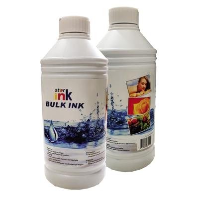 Tinta Premium Compatible Star Ink - Dye Para Sistemas Continuos Y Cartuchos Epson - 1000ml -  Negro