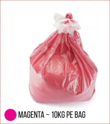 Bag Carga Toner Compatible Polvo P/ Hp Color Chemical  - Magenta - (bag X 10 X Kg)