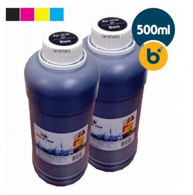 Tinta Premium Compatible Star Ink - Dye Para Sistemas Continuos Y Cartuchos Hp Series - (250ml) - Negro