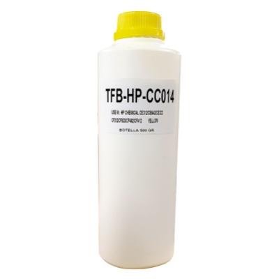 Carga Toner Polvo Compatible Para Ser Usado En P/ Hp Color Chemical  - Amarillo - (botella X 500 Gr)