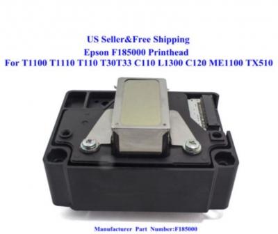Cabezal De Impresion Epson F185000 P/ T1100, T1110,  Me1100, C110, C120, L1300, T30, T33, Tx51 * (unidad)