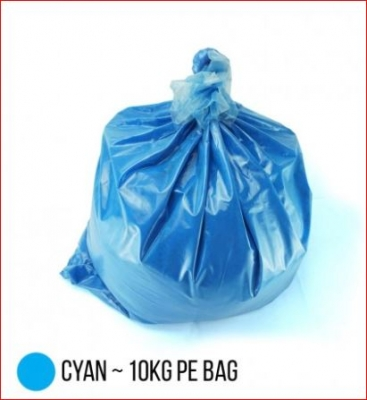 Bag Carga Toner Compatible Polvo P/ Hp Color Chemical  - Cyan - (bag X 10 X Kg)